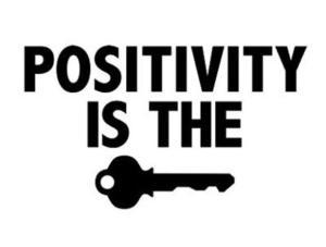 Wees positief!