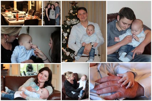 1e kerstdag collage