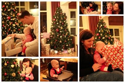 Kerstavond collage